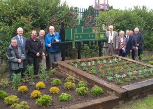 Comber Regeneration Community Partnership have 'trained' the Glen Link!